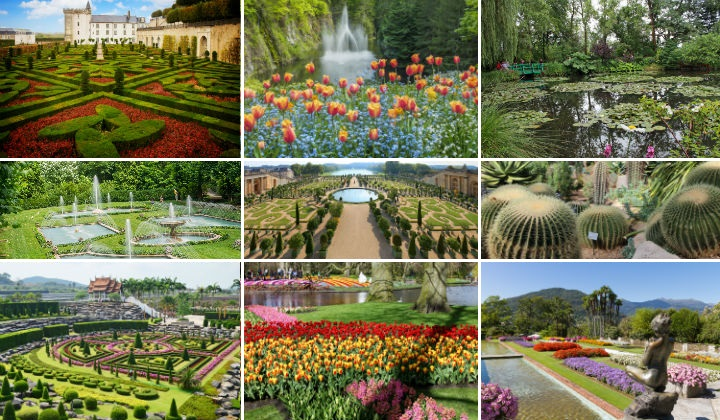 40 fascinating facts about 9 of the world's must-visit gardens