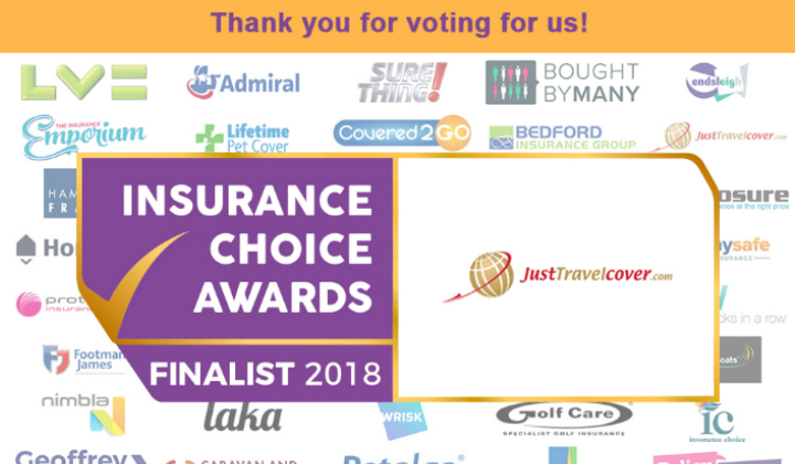 Just Travel Cover Named Finalist For National Award